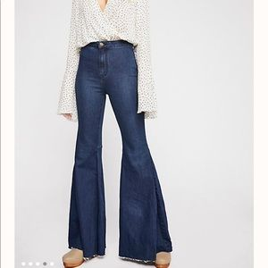 Free People Float On Jeans